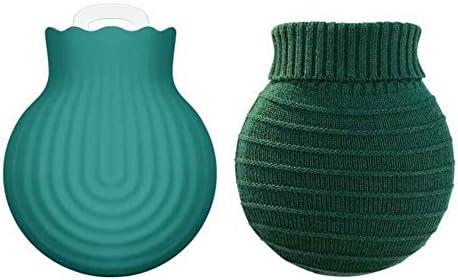 HOPQ Haushalts-Silikon-Wärmflasche Sicherheit Explosionsgeschützte, tragbare, siebdichte Wärmflasche