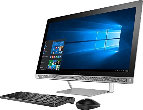 HP Pavilion 27″ FHD IPS Touchscreen All-in-One Desktop, Intel i7-6700T Quad Core Processer, 12GB DDR4 RAM, 1TB 7200RPM HDD, SuperMulti DVD, 802.11AC, Bluetooth, HDMI, Wireless Combo, B&O Audio -Win10