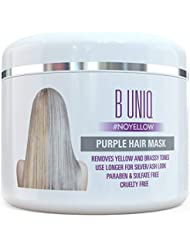 Purple Hair Mask For Blonde, Platinum & Silver Hair...