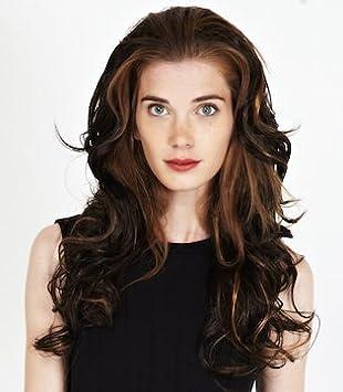 Tip Top Hair Damenperücke Halber Kopf Langes Stufiges Haar