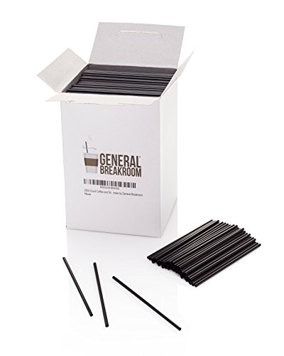 2000-count, 5 1/2'' Coffee and Cocktail Drink Stirrer Straws By General Breakroom by General Breakroom (Image #4)