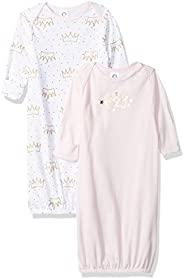 Gerber Baby-Girls 2-Pack Gown