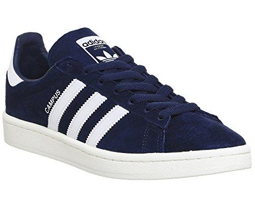 adidas Campus, Zapatillas de Deporte para Hombre Azul (Dark Blue/footwear White/chalk White)
