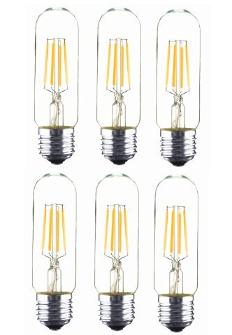 Best to Buy® 6 Pack The Longhorn 40 Watt Bulb Choose from many other designs. Inspired by Thomas Edison these incandescent filament style bulbs provide retro vintage light ambiance (WHITE )