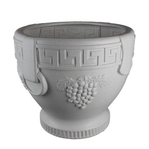 Union Products 53521SC Classic Roman Concrete Grape Pattern Urn Planter ()