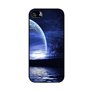 Blue Moon Case - Hard Plastic case for iPhone 5C