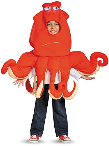 Toddler Girl Fish Costume (Hank The Septopus Deluxe Toddler Finding Dory Disney/Pixar Costume, Large/4-6)