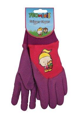 Yeominis Gripper Gloves - Pink Scotts Solus