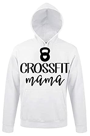 Crossfit Mama Funny Awesome Sport Motivation Quote Design