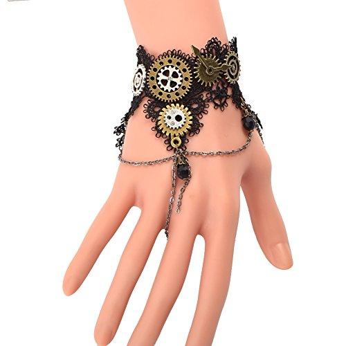 BLESSUME Filles Steampunk Poignet Équipement Bracelet Un Pièce