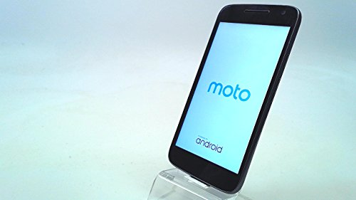 Motorola Moto G Play 4th Generation 16GB Unlocked GSM 4G LTE Android Smartphone w/ 8MP Camera (Black)