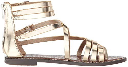 Sam Metallic Mujer Molten Gold Edelman Leather Ganesa Foiled Para r0Ta7rS1P