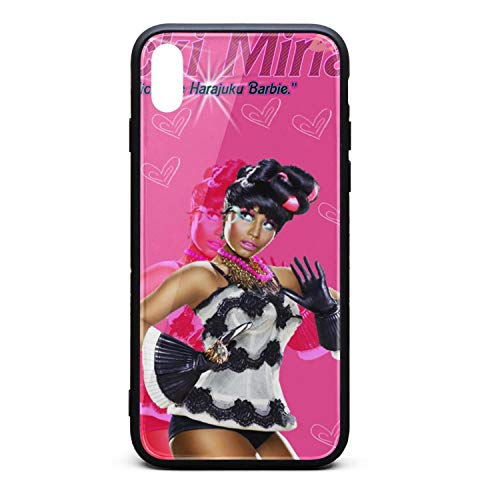 IPhoneXS Max Case Nicki-Minaj-Fan-Art- Slim Flexible TPU Bumper Cover Skin Case for IPhoneXS Max Case[6.5 Inch] -