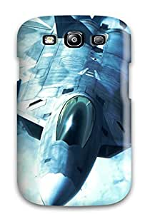 Awesome Case Cover/galaxy S3 Defender Case Cover(f-22 Raptor)