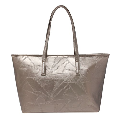 Quilted Vintage Tote - 1