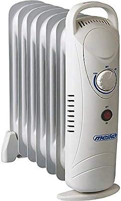 Mesko MS7804, Radiador de Aceite, Tamaño Único, Blanco: Amazon.es ...