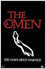 Vintage Gregory Peck Horror Movie Poster The Omen. This print is made with acid free and archival materials in the USA.