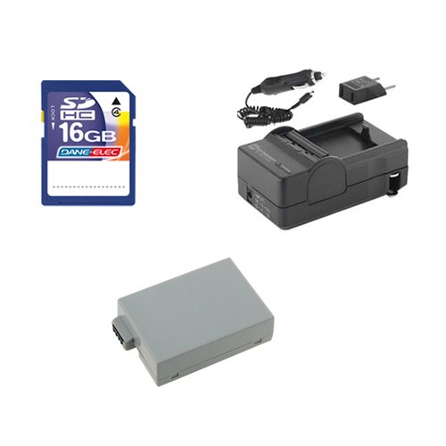 Sdm 1518 Charger (Canon EOS Rebel T5i Digital Camera Accessory Kit includes: SDLPE8 Battery, SDM-1518 Charger, SD4/16GB Memory Card)