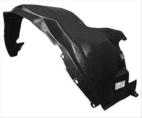 OE Replacement Nissan//Datsun Armada//Titan Front Passenger Side Fender Inner Panel Partslink Number NI1249107
