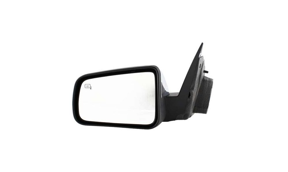 Mirror for Focus 08-11 Left Side Power Non-Folding Heated Chrome Kool Vue FD109CL