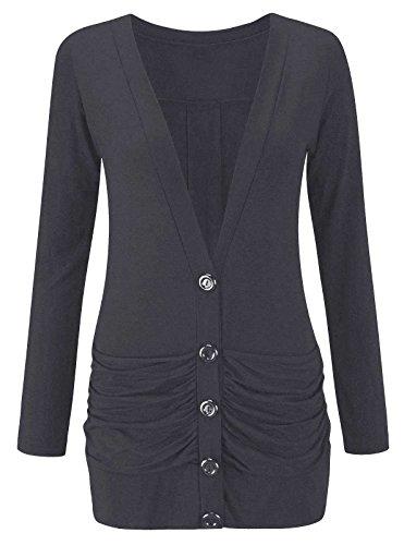 side button cardigan - 5