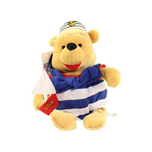 Disney Store Mini Bean Bag Nautical Winnie the Pooh 8