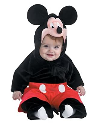 Baby Deluxe Mickey Mouse Costume