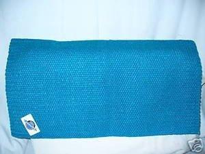 Mayatex Mayatex Show Saddle Blanket Pad Turquoise Horse Tack