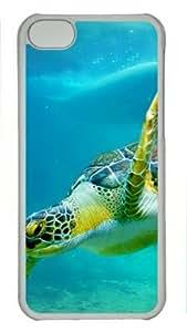 iPhone 5C Case, tortuga PC carcasa tema para iPhone 5C