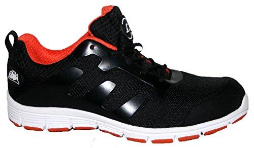 Groundwork GR95 C - zapatos de seguridad de lona hombre noir / orange