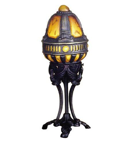 Meyda Tiffany 22085 Castle Swan Accent Lamp, 13