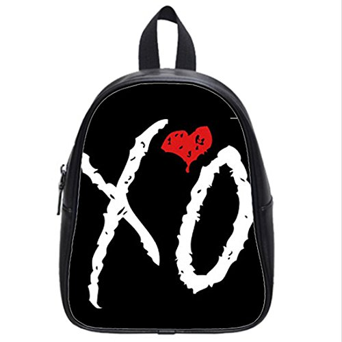 Custom Unisex Leather Teenager School bag(Mochilas) the Weeknd Xo Printed Casual Travel Backpacks Large: Amazon.es: Ropa y accesorios