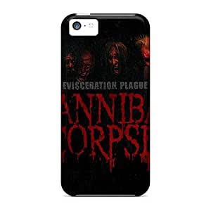 Protective Cell-phone Hard Covers For Apple Iphone 5c With Customized Vivid Morbid Angel Band Skin PhilHolmes