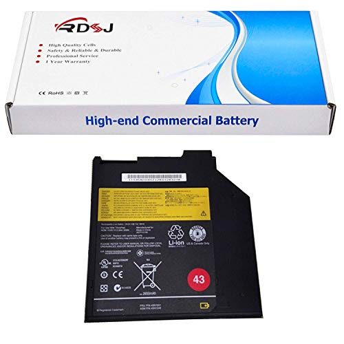 45N1040 45N1041 0A36310 43 Ultrabay Battery Compatible with Thinkpad T400 T400S T410S T420S T430 T430S T500 Series 10.8V 32Wh