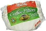 4 cup basket coffee filter - Melitta White Jr. Basket Filter, 4-6 Cup, 200 ct