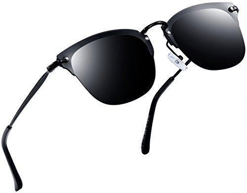 Joopin-Men Retro Brand Polarized Sunglasses Women Vintage Ro