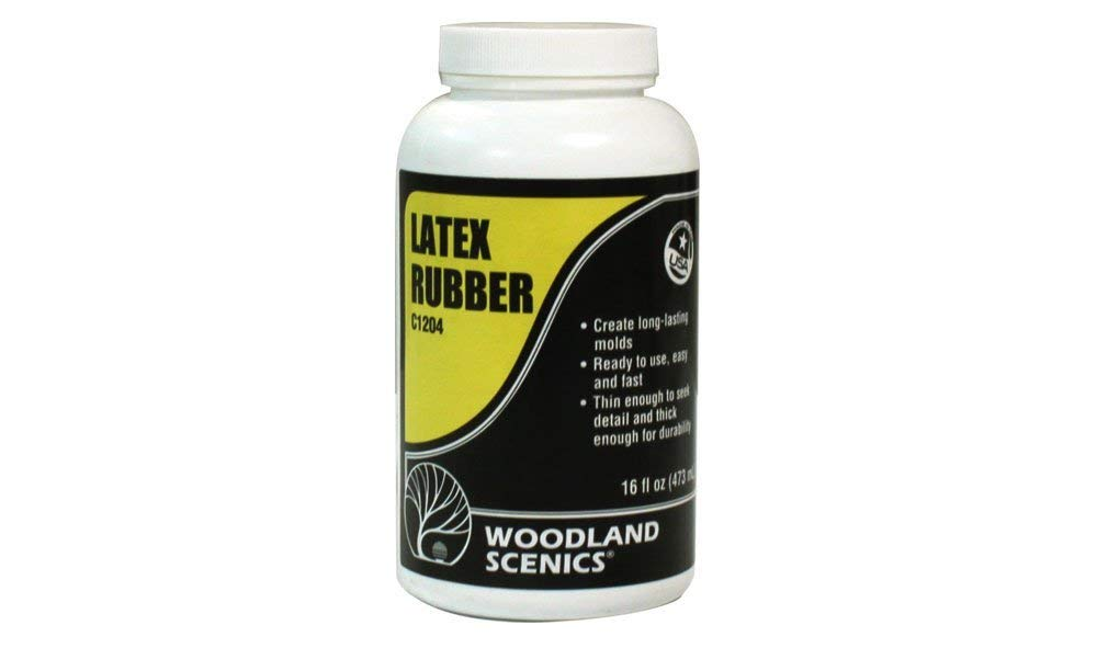 Woodland Scenics Latex Rubber 16 ounces by Woodland Scenics