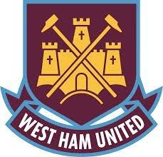 Eight Inch Round West Ham United Logo Edible (Edible Ham)