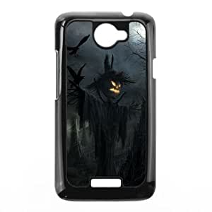 HTC One X Cell Phone Case Black Halloween Y2J9LD