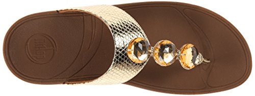 FitFlop™ Petra™ Pale Gold 3 UK