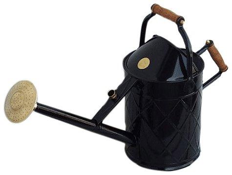 Haws Gießkanne haws gießkanne heritage 8 8 liter in schwarz amazon de garten