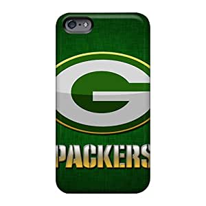 Shock-Absorbing Hard Cell-phone Cases For Apple Iphone 6 (uVY22705BDKg) Customized High-definition Green Bay Packers Series