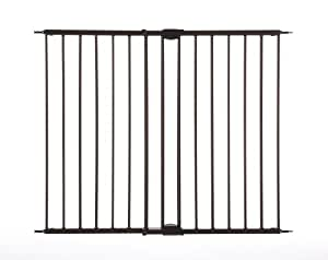 """Supergate Easy Swing & Lock Gate, Bronze, Fits Spaces between 28.68"""" to 47.85"""" Wide and 31""""high"""