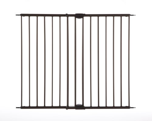 "Easy Swing & Lock Gate, Bronze, Fits Spaces between 28.68"" to 47.85"" Wide and 31""high"