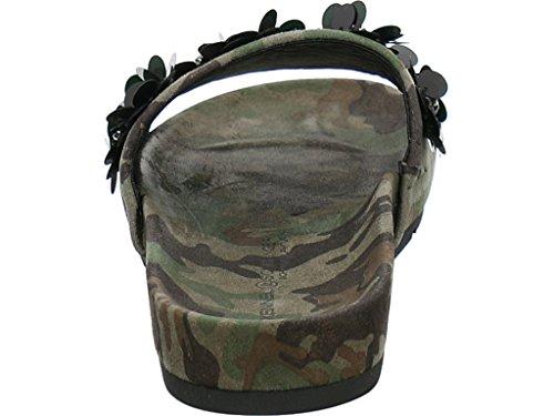 Kennel & Schmenger Women's Clogs Laos Camouflage hOaBH