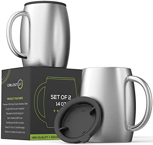 Stainless Steel Insulated Coffee Mugs product image