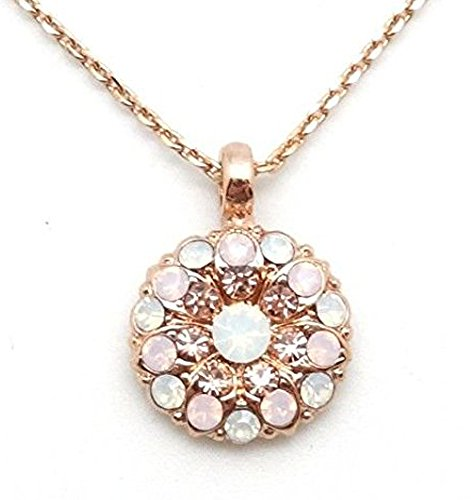 Mariana 2333 Tiara Day Guardian Angel Rosewater & Peach Rose Gold Plated ()