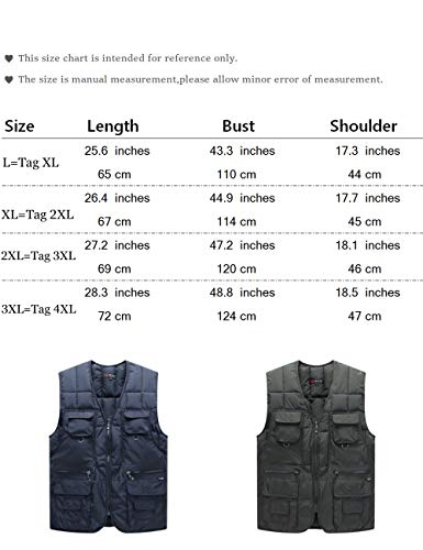 Gilet Dark Warmer Quilted Lightweight Country Outerwear Lined Clothing Men's Body Vest Down Breathable Sleeveless Blue Waistcoat Sweater BESBOMIG ExaqI0wSn
