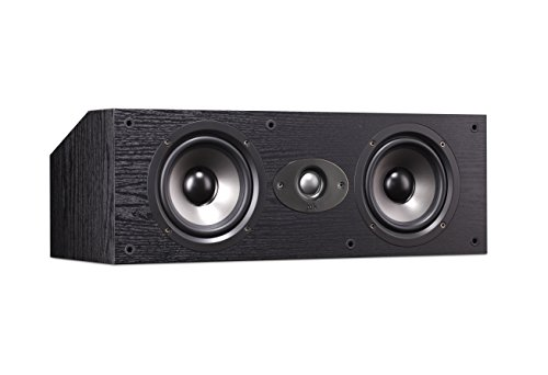 Polk Audio TSx 150C Center Channel Speaker - Black by Polk Audio