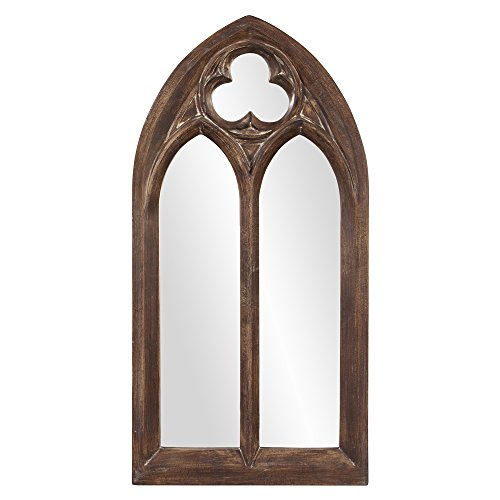 Howard Elliott 43124 Basilica Arched Mirror, Narrow, Tuscan Brown (Tuscan Style Mirror)